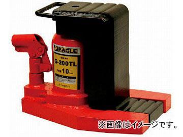 イーグル 低床・レバー回転・安全弁付爪つきジャッキ 爪能力10t 爪ロングタイプ G-200TL(4560311) JAN:4520187170168