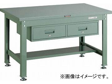 トラスコ中山 SDW型作業台 1200X750XH740 2列引出付 SDW-1200FL2(4672895) JAN:4989999640915