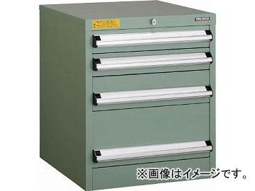 トラスコ中山 VE5S型キャビネット 500X550XH600 引出4段 VE5S-607(4790413)