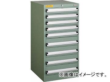 トラスコ中山 VE5S型キャビネット 500X550XH1000 引出9段 VE5S-1006(4790201)