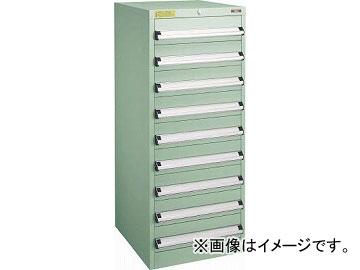 トラスコ中山 VE5S型キャビネット 500X550XH1200 引出9段 VE5S-1206(4790294)