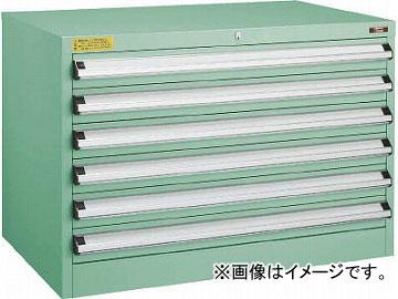 トラスコ中山 VE9S型キャビネット 880X550XH600 引出6段 VE9S-604(4791568)