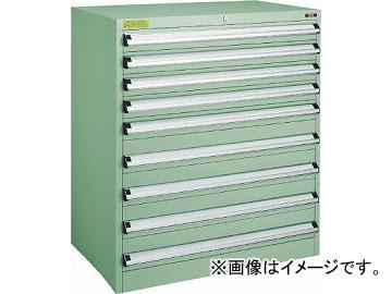トラスコ中山 VE9S型キャビネット 880X550XH1000 引出9段 VE9S-1006(4791371)