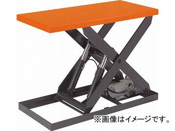 トラスコ中山 テーブルリフト1000kg 油圧式 600X1200 HDL-100-0612(4642651) JAN:4989999676846