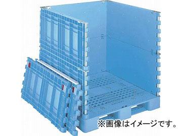 リス パレットボックスBJB-S・1111X115上下一面扉11 ブルー BJB-S・1111X115-UDS11(4580893) JAN:4938233378763