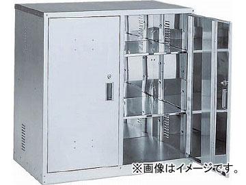 トラスコ中山 耐震薬品庫 両開型 900X500XH900 TK-1HN(4789938) JAN:4989999363616