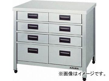 アズマ 縦型引出し付作業台 KTVO-450(4552954) JAN:4560155873301