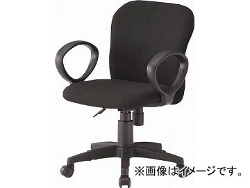 TOKIO オフィースチェア 肘付 ブラック FST-60ABK(4645901) JAN:4942646056699