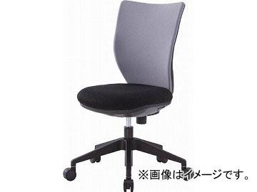 アイリスチトセ 回転椅子3DA グレー 肘なし 3DA-45M0-GR(4743881) JAN:4905865994807