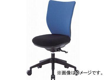 アイリスチトセ 回転椅子3DA ブルー 肘なし シンクロロッキング 3DA-S45M0-BL(4743920) JAN:4905865994708