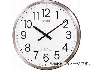 シチズン パルフィスF(電波掛時計)ステンレス材 銀色ヘアライン仕上 4MY660-N19(4853245) JAN:4903456195343