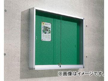 トラスコ中山 屋外掲示板 アルミ製シルバー枠 1230X100X930壁付タイプ FUK-34H(4573811) JAN:4989999680461