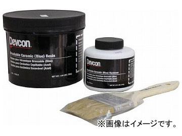 デブコン 耐蝕・耐摩耗補修剤 ブラッシャブルセラミック赤 2lb 11760(4333110)