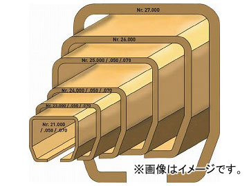 HELM ニコ 24号ハンガーレール 3640m 24HE-3640(7711051)