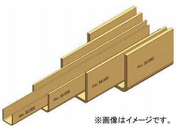 HELM ニコ 26/27号ガイドレール 3640mm 267HE-G3640(7711654)