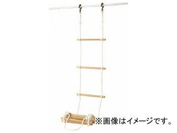 高木 避難用縄梯子 12mm×3m 29-0105(7617984)