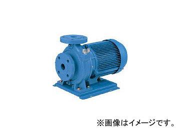 エバラ 片吸込渦巻ポンプ 口径32×32mm 0.75kW 60HZ 32X32FSFD6.75E(7734557)