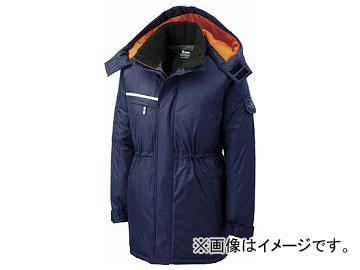 ジーベック 581581 防水防寒コート 紺 3L 581-10-3L(7639384)