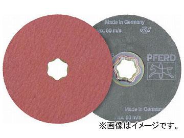 PFERD ディスクペーパー コンビクリック酸化アルミナ COOLタイプ 836194(7653271) 入数:25枚