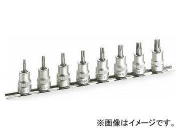HAZET TORXビットソケットセット(差込角9.5mm) 8802T/8H(5844835) 入数:1セット(8個)