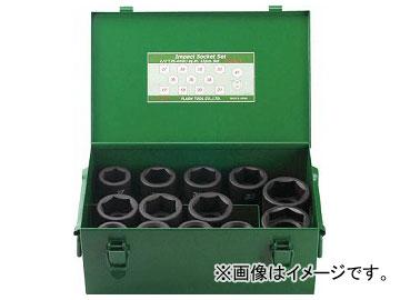 FPC インパクト セミロングソケットセット 差込角25.4mm 13pc 8WA-S13(7697155)