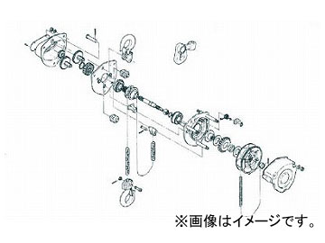 キトー M3形キトーマイティシタフック1式 C3BA025-10213(4989066)