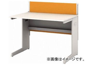 IRIS デスクパネル・コンセント付デスク幅1000mm オレンジ CPD-1070-W-OG(7594101)