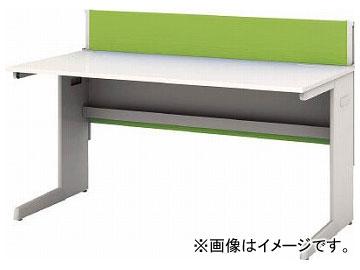 IRIS デスクパネル・コンセント付デスク幅1400mm グリーン CPD-1470-W-GN(7594151)