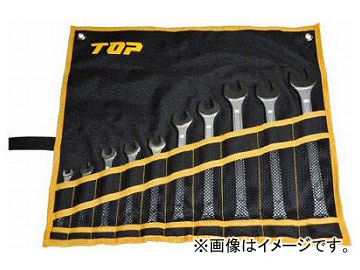 TOP ラチェットコンビセット CW-10000S(4957571) 入数:1セット(10本)