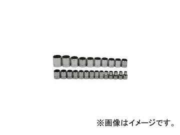 格安販売中 1/2ドライブ 12角 ソケットセット JHWMSS-24RC(7580576) WILLIAMS 入数:1セット(24個):オートパーツエージェンシー2号店-DIY・工具