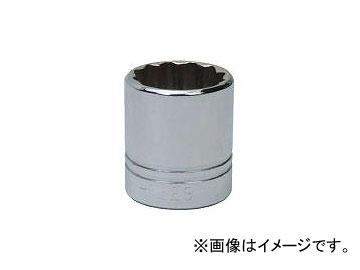 WILLIAMS 1/2ドライブ ソケット 12角 36mm JHWSTM-1236(7581203)