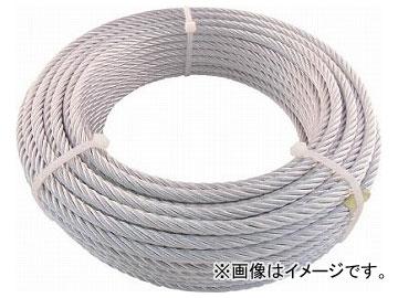 トラスコ中山 JIS規格品メッキ付ワイヤロープ(6×24)φ9mm×30m JWM-9S30(7599528)