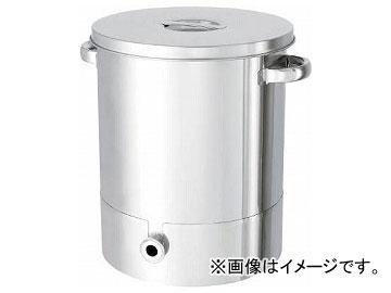 日東 ステンレスタンク片テーパー型汎用容器 100L KTT-ST-47H(7516096)