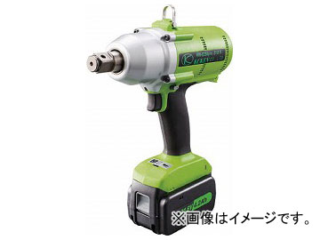 空研 充電インパクトレンチセット19mm角 KW-E250PROS(7647948)