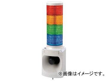 パトライト LED積層信号灯付き電子音報知器 LKEH402FARYGB(7514719)