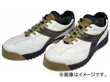 ディアドラ 安全作業靴 ピーコック 白/黒 27.5cm PC12-275(4956311)