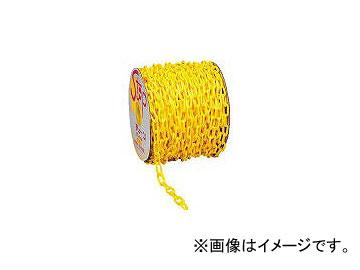 ミツギロン プラチェーン 黄 6mmX50m巻 PC-Y6(1261932)