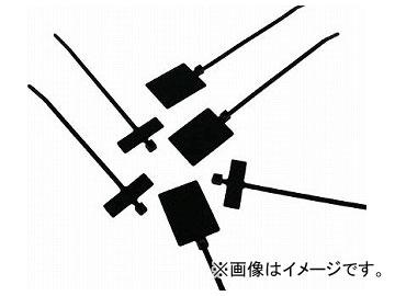 パンドウイット 旗型タイプナイロン結束バンド 耐候性黒 PL2M2S-D0(4382625) 入数:1袋(500本)