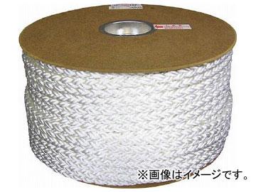 ユタカ ポリエステルクロス係留ドラム巻 12φ×100m 白 PRD-6(7541180)