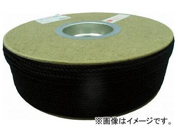 ユタカ ポリエステルロープ ドラム巻 3φ×300m 黒 PRS-71(7541384)