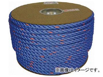 ユタカ タストンロープ ブルー ドラム巻 12φ×100m 青 PRVP-62(7541449)