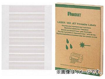 パンドウイット レーザープリンタ用回転ラベル 白 R100X075X1J(7311401) 入数:1箱(2500枚)