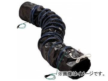 トラスコ中山 フレキシブルダクト 帯電防止タイプ アース付 φ200×長さ5m RFA-200(7657161)