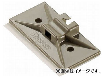 パンドウイット マウントベース型 結束バンドスナップイン固定具 テレホングレー SMS-A-C14(7315562) 入数:1袋(100個)