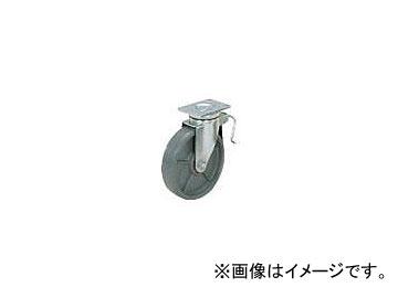スガツネ工業 重量用キャスター径203 自在ブレーキ付SE(200-133-372) SUG-8-808B-PSE(5840490)