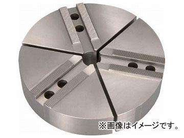 THE CUT 円形生爪 日鋼製 8インチ チャック用 TKR-08N(7607504) 入数:1セット(3個)