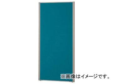 トラスコ中山 ローパーティション 全面布張り W600×H1465 ブルー TLP-1506A-B(7649339)