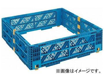 トラスコ中山 TMSC型コンテナ用レイヤー メッシュ 1100×1100 黒 TMSC-LM1111-BK(7698089)