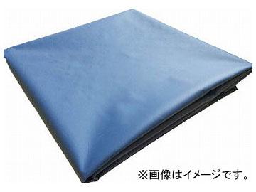 トラスコ中山 ターポリンシート ブルー 1800×2700 0.35mm厚 TPS1827-B(7654219)