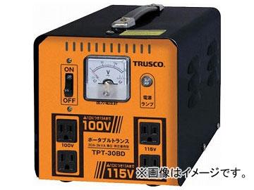 トラスコ中山 ポータブルトランス 30A 3kVA 降圧・昇圧兼用型 TPT-30BD(7644639)